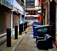 """An alley in Philadelphia""photo by KevVonHolt"