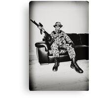 Boy Soldier Canvas Print