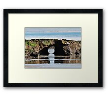 Nature's Tunnel Framed Print