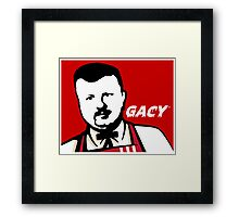 Colonel Gacy Framed Print