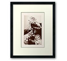 Boy soldier 3 Framed Print