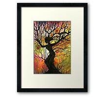 Tree of Life Series - 'Dusk' Framed Print