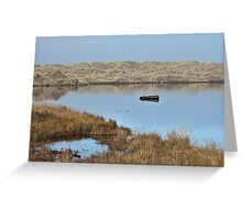 Little River State Beach Greeting Card