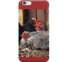 chicken yoga iPhone Case/Skin