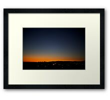 L.A. Sunset Framed Print