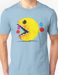 Pac Man: cold blooded killer.  T-Shirt