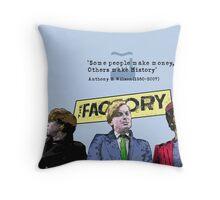 Tonys Factory Throw Pillow