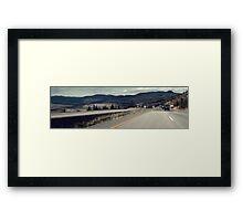 British Columbia Framed Print