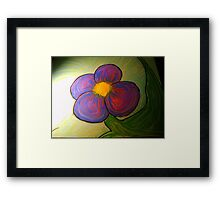 Basking in the ambiance Framed Print