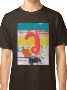 """Thai Characters """"ว"""" Classic T-Shirt"""