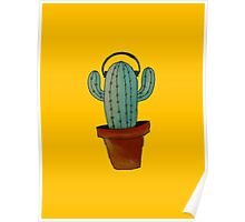 Groovy cactus Poster