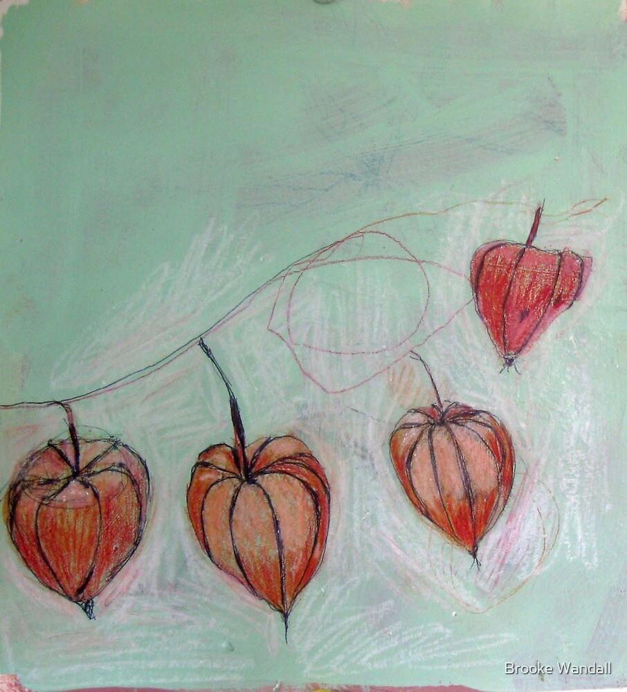 chinese lanterns by Brooke Wandall