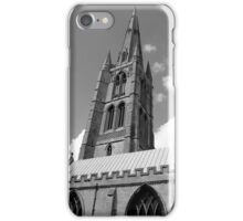 The Spire, St.Wulfram's Church Church, Grantham, England iPhone Case/Skin