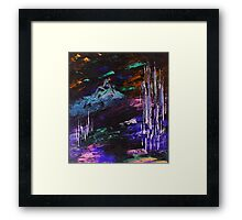 Down from the Mountain Framed Print
