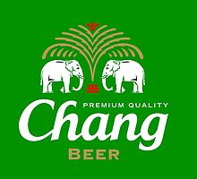 Chang Beer Thailand by Draw2LUV
