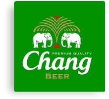 Chang Beer Thailand Canvas Print