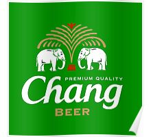 Chang Beer Thailand Poster