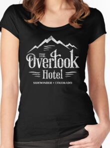 The Overlook Hotel T-Shirt (worn look) Women's Fitted Scoop T-Shirt