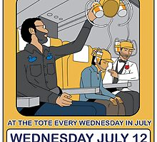 Telecom July Wednesday Residency at The Tote 2006: July 12  by telecom