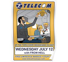 Telecom July Wednesday Residency at The Tote 2006: July 12  Poster