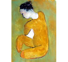 seated nude Photographic Print