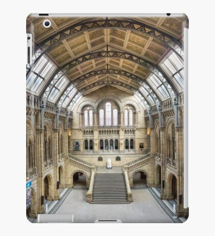 Natural History Museum - Hintze Hall iPad Case/Skin