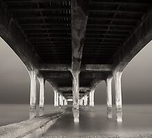 Boscombe Pier by Mark Pelleymounter