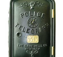 Police Telegraph 35 By Gamewell by IMAGETAKERS