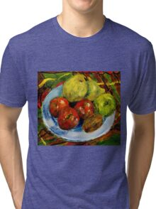 Still life with fruit Tri-blend T-Shirt