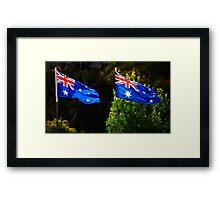 Australia Day 2011 Framed Print