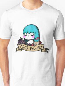 Go Away Banner Girl T-Shirt