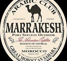 Marrakesh camel by Port-Stevens