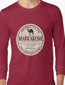 Marrakesh camel Long Sleeve T-Shirt