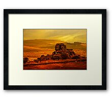 Vixen Tor, Dartmoor, UK Framed Print