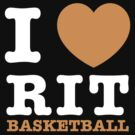 I Heart RIT Basketball by dfur