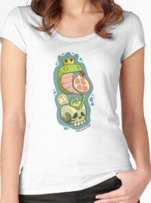 Dead Snake King Women's Fitted Scoop T-Shirt