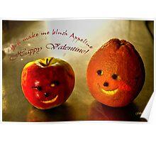 You make me blush Appeline. Poster