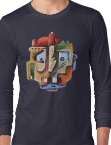 Surrealist Head Long Sleeve T-Shirt