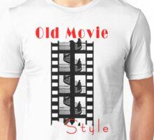 Old Movie Style 1 Unisex T-Shirt