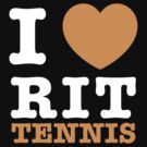 I Heart RIT Tennis by dfur
