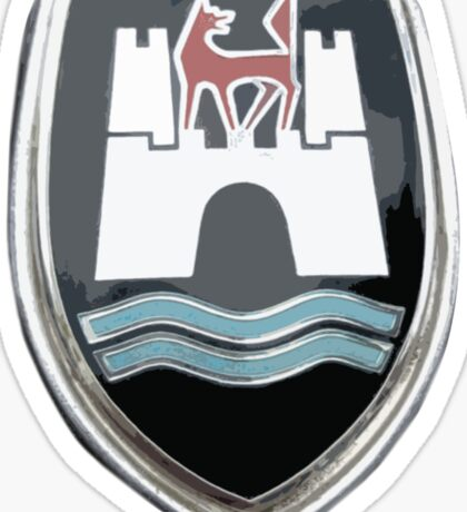 VW crest from 1960-1962 Sticker