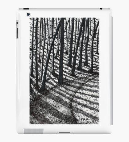 'Trees and Shadows' iPad Case/Skin