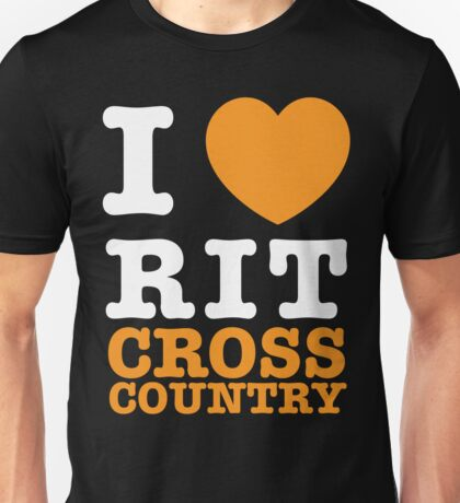 I Heart RIT Cross Country Unisex T-Shirt