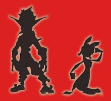 Jak and Daxter: The Precursor Legacy Silhouette Kids Tee
