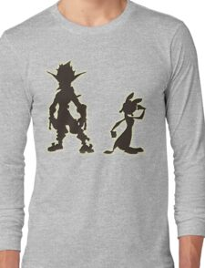 Jak and Daxter: The Precursor Legacy Silhouette Long Sleeve T-Shirt