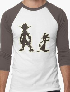Jak and Daxter: The Precursor Legacy Silhouette Men's Baseball ¾ T-Shirt