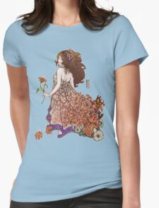 Lily - Flower Girls Series Womens Fitted T-Shirt