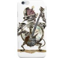 Robot guitar player iPhone Case/Skin
