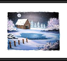 The Old Barn in Winter by teresa731