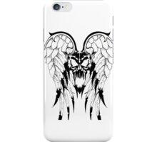 winged skull iPhone Case/Skin